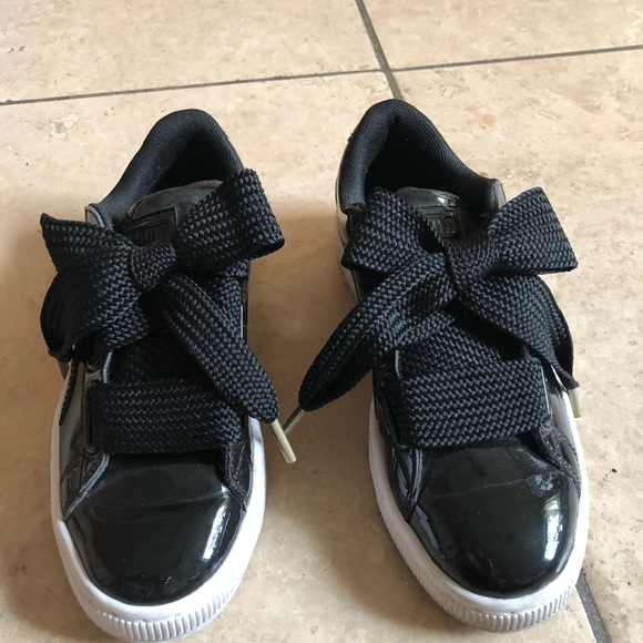 Puma Basket gloss black